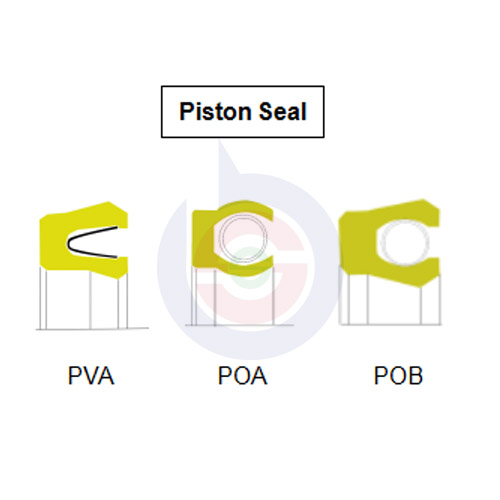 Energized Piston Seal