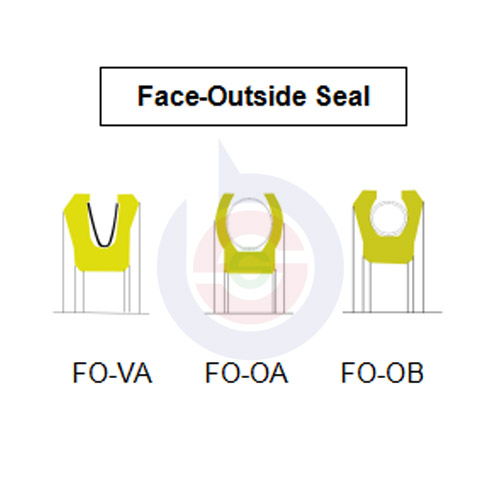 Face-Outside Energized Seal