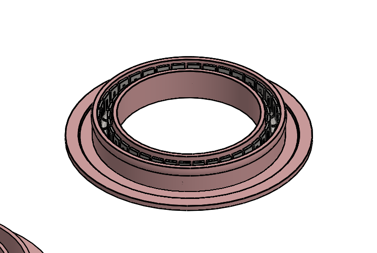 Aerospace rod seal